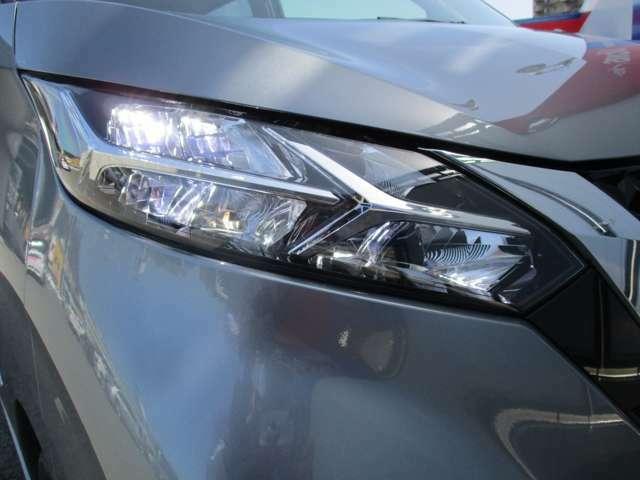 LEDヘッドランプは夜道を明るく照らします!