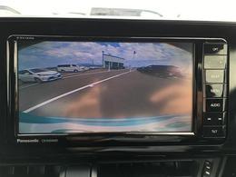 【 バックカメラ 】後ろの視界もバッチリ!狭い場所での駐車や後ろが見にくい場所でも安心して駐車できます