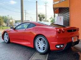 エムワンカーファクトリーのフェラーリは全車第三者機関の査定検査を受検しています!安心の鑑定書付です!