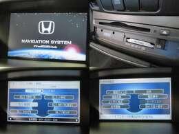 お出掛け嬉しい、純正HDDインターナビ付です♪DVDビデオ再生機能・音楽録音機能も装備しております♪