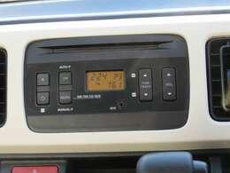 CDラジオ付きでドライブをお楽しみいただけます♪