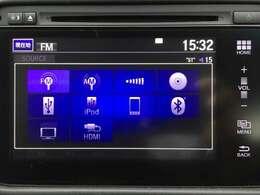 【純正インターナビ】CD/DVD再生機能/SD/USB再生機能/Bluetoothオーディオ/フルセグTV視聴可能