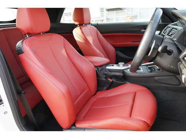 フロント・シート・ヒーティング(運転性&助手席): 寒い季節には、シート座面やバックレストの中心部を素早く快適な温度に温めます。3段階制御式。