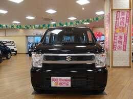 イオン三笠店内にオールメーカーの軽自動車を約100台展示中!
