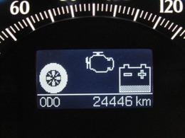 走行距離は少なく、およそ24,000kmです。