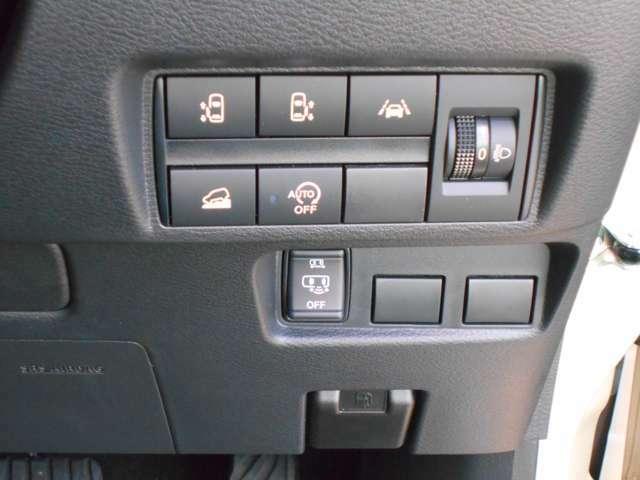 ☆電動スライドドア☆荷物で手が塞がっている時や、急な坂道での開閉も、楽々♪運転席の手元のスイッチやリモコン操作でも開閉できます!