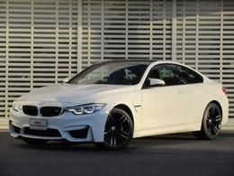 BMW M4クーペ M DCT ドライブロジック 黒革 19インチAW LED ヘッドアップD 禁煙車