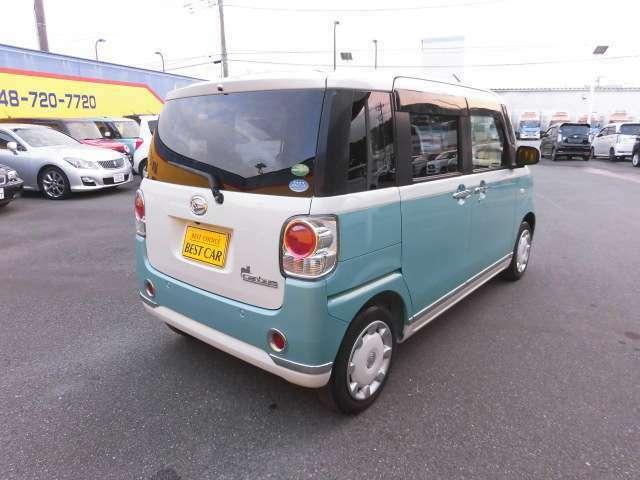 外観良好 オシャレなデザインの外装で人気のある車!