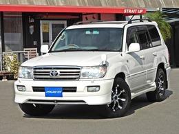 トヨタ ランドクルーザー100 4.7 VXリミテッド 4WD 社外SDナビ・DTV クリムソン18AW