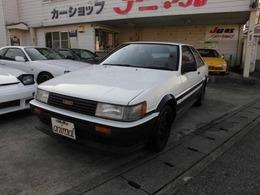 トヨタ カローラレビン 1.6 GT 白黒ツートンレストア車