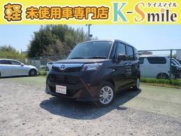 トヨタ タンク 1.0 X S 登録済未使用車 ナビレディP付