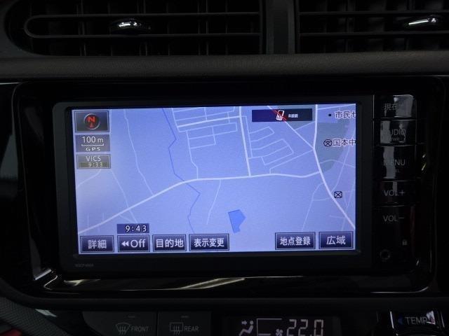 ドライブやレジャーのマストアイテム!快適なドライブをサポートする純正SDナビ&ワンセグTV装着!