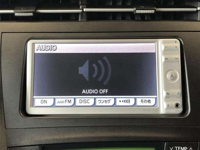 ≪フルセグ・ワンセグ≫ 車の中で、ナビ画面でTVを見ることができます!フルセグはワンセグよりも画質が良く、移動中でもTV画面が乱れにくく、快適です!