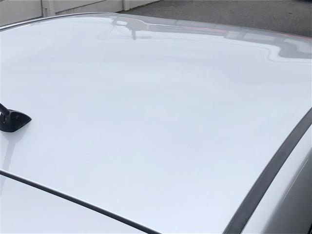 屋根の状態もしっかりと確認出来ます。トヨタ「まるごとクリーニング」でピカピカです☆☆