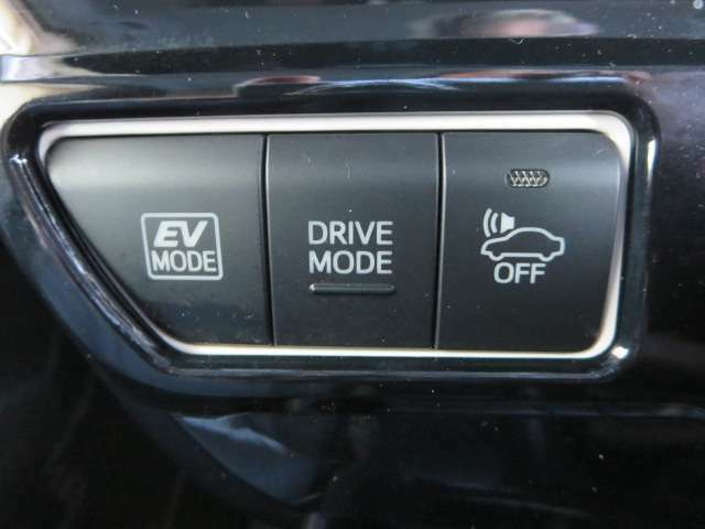 ◆各種走行モードの変更ができます。