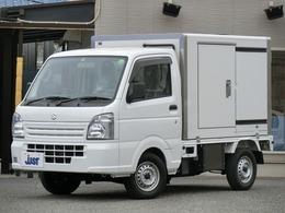 スズキ キャリイ 660 冷凍車 1WAY 助手席側スライドドア仕様 -5°リア観音ドア 左側スライドドア PW