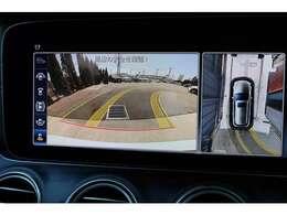 360°カメラ付きで駐車をサポート致します。