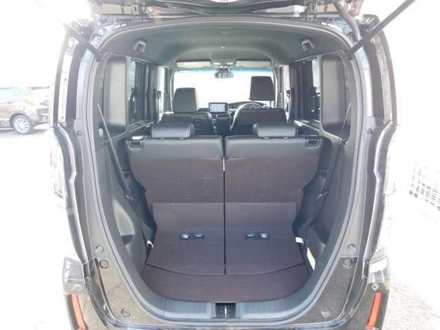 トランクの画像です!当店のカーライフアドバイザーがぴったりの車両をご提案いたします!