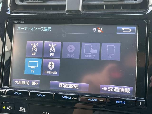 ナビテレビ装備車です。快適なドライブには欠かせない装備が充実しております。