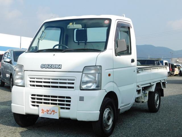 エアコン・パワステ・5速ミッション車・三方開・点検記録簿・4WD