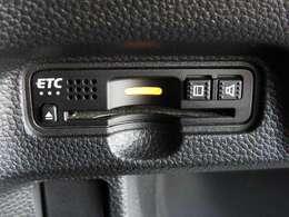 便利なETC車載器も装備済み!高速道路の料金所もスムーズに通過できます♪
