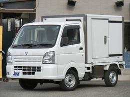 スズキ キャリイ 660 冷凍車 1WAY -5°リア観音ドア 左側スライドドア PW