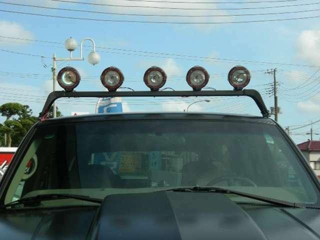 ・ランプバー&HID 5連フォグランプ・フロントLEDライトバー(120W)