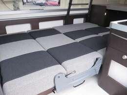 ダイネットベッドは190×120!