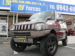 スズキ ジムニー 660 ランドベンチャー 4WD 1年保証/外マフラー/革シート/全塗装カラー