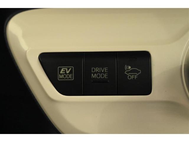 ■EVドライブモードスイッチ、■ドライブモードセレクトスイッチ(ノーマル/パワー/エコドライブ)、■車両接近通報一時停止スイッチ 装備。