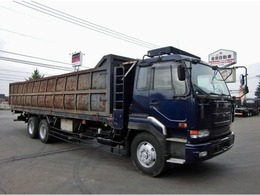UDトラックス ビックサム スクラップ運搬車 KL-CW55ZVH 360馬力