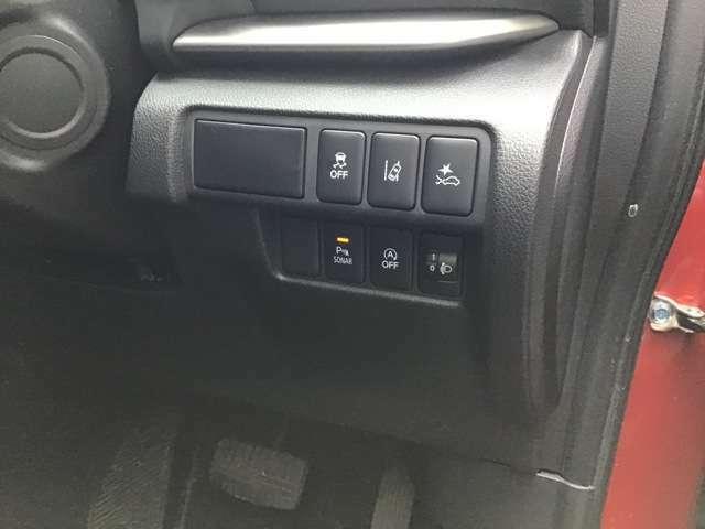 車線逸脱警報システム/衝突被害軽減ブレーキ/誤発進抑制機能