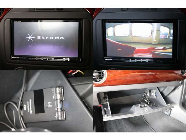 Panasonic SDナビ フルセグTV DVD・CD・SD再生 Bluetooth接続 バックカメラ ETC