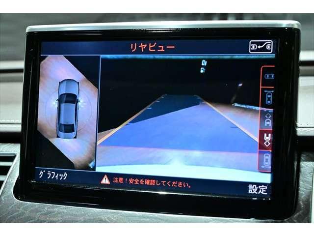 全方位360度カメラ装備!