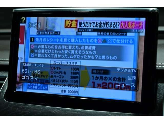 テレビの視聴も可能です!