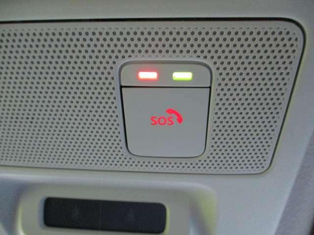 位置情報を元に専用オペ-レーターに繋がるSOSコール!万が一の事故でもエアバックと連動し自動通報されます!