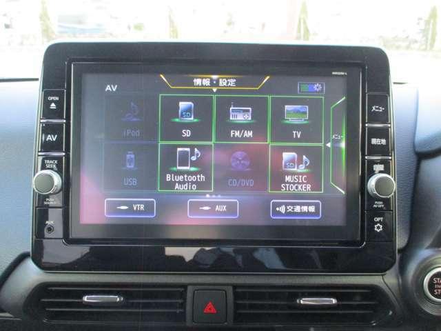 各種音楽ソースで楽しいドライブができます。