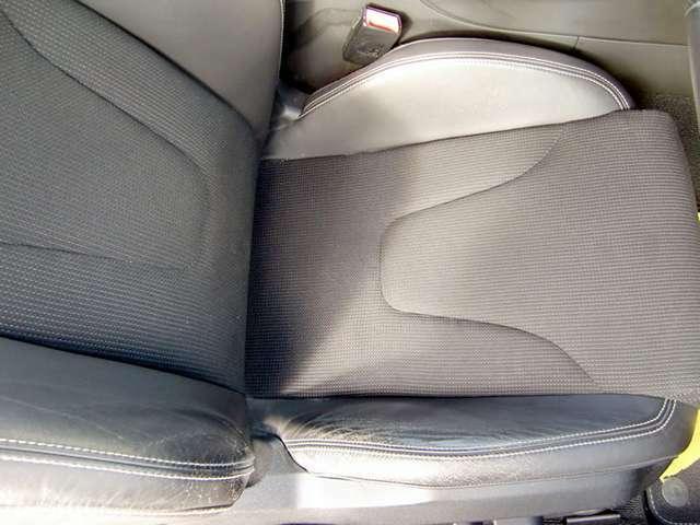 運転席座面/背面の状態です-電動パワーシート