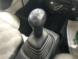 こちらのお車は5速ミッションのお車です!!
