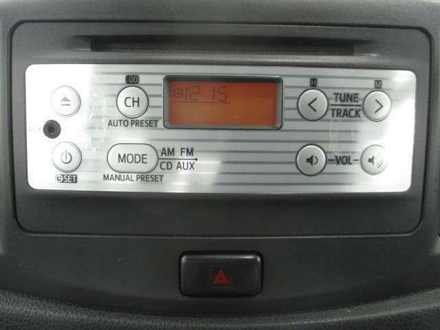 ☆CDデッキ装備!!お気に入りの音楽でドライブの時も楽しく過ごせます♪