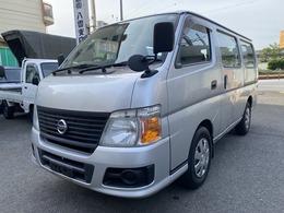 日産 キャラバン 2.0ガソリン DX低床/両側スライドドア 新普通免許可/走行31200キロ