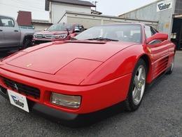 フェラーリ 348 tb Ferrariバッグ付きディーラー車