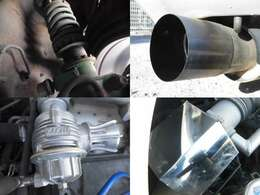 TEIN車高調 5ZIGENマフラー BLITZブローオフバルブ エアクリ装備