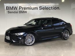 BMW M3セダン コンペティション M DCT ドライブロジック Mパフォーマンスパーツ装着車