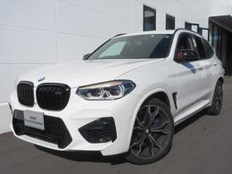 BMW X3 M コンペティション 4WD ワンオーナー・赤レザー・禁煙車