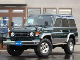 トヨタ ランドクルーザー70 4.2 ZX ディーゼル 4WD OP前後デフロックリアヒーター新品タイヤ