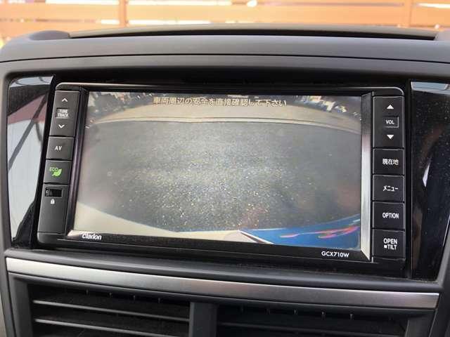 ☆バックカメラ☆ 便利なバックカメラで安全確認もできます♪駐車が苦手な方にもオススメな便利装備です♪