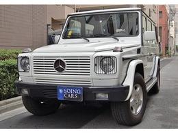 メルセデス・ベンツ Gクラス G320L 4WD 黒革 サンルーフ 禁煙車