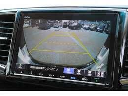 リヤカメラDE安心パッケージ(ダブルビュー)付き♪バックカメラ搭載で駐車時も安心です!♪
