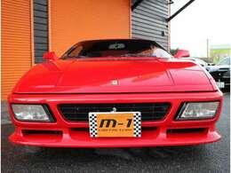 平成2年式(90y)フェラーリ348tb!ヨーロッパ新車並行車両!黒本革シート!MSレーシングマフラー付!53200km時タイミングベルト交換済!48963km時クラッチO/H済!